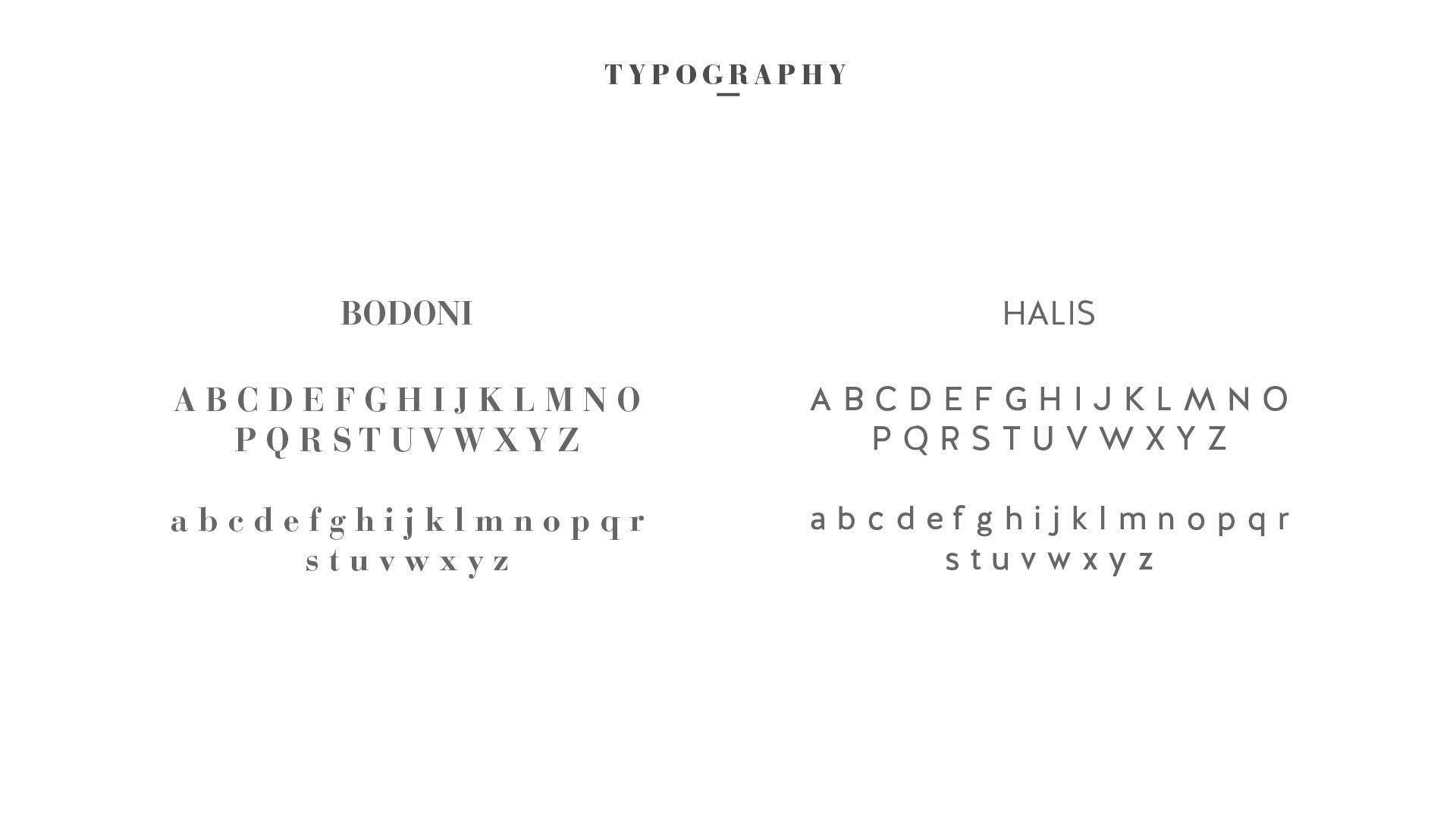 6 brand typography
