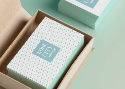 9 brand business cards