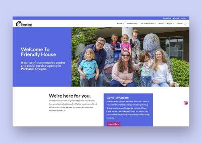 Friendly House Web Development